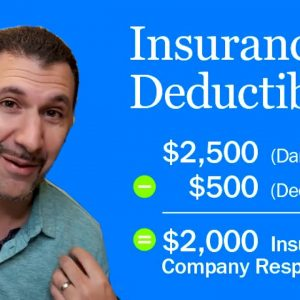 How Insurance Deductibles Work | The 4 types and most common deductibles for Home and Auto